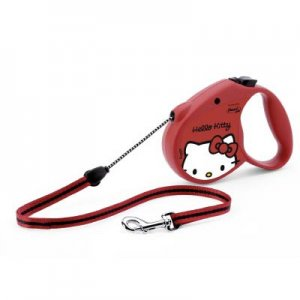 Guinzaglio Flexi Hello Kitty Rosa 5M CORD TAPE LEASH 13X2,7X9 H CM - 0,129 KG