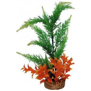 Pianta decorativa per acquario con base phytos 16 cm 30