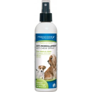 Francodex spray anti-mordicchiamento per cani giovani e adulti 200 ml