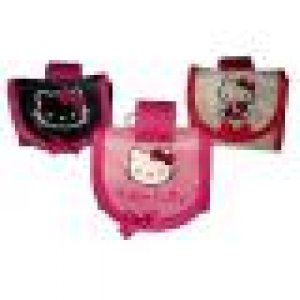 Dispenser con sacchettini raccoglifeci hello kitty rosa