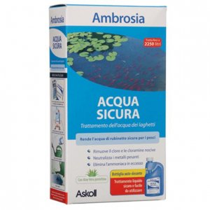 Ambrosia acqua sicura petingros for Pulizia laghetto