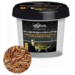 HAQUOSS Cibo per tartarughe - Rivershrimps 3000ml