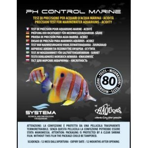 Haquoss pH MARINE Test per Acquario (pH Acqua Marina)