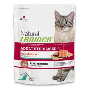 Trainer Natural Cat Adult Sterilised Salmone
