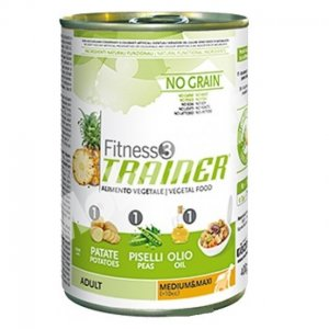 Trainer Fitness3 Dog Vegetal Medium e maxi Lattina  400 GR