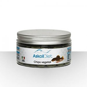 Askoll Diet mangime per pesci Chips Vegetali 100ml