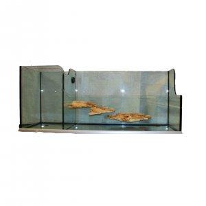 Tartarughiera tarta in vetro d 39 alta qualit con isole for Tartarughiera
