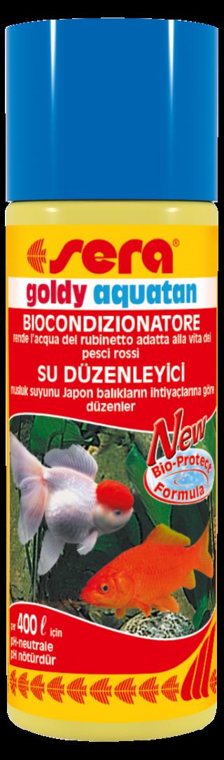 Sera goldy aquatan biocondizionatore pesci rossi