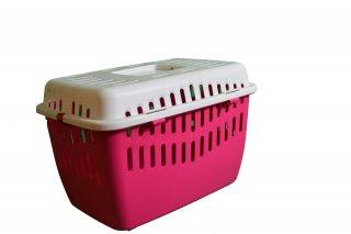 Binny 1 Rosa-Bianco basic Trend Trasportino Marchioro