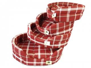 Cuccia scozzese classica per cani