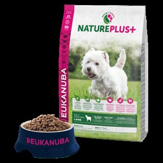 Eukanuba nature plus Adult small lamb 14kg
