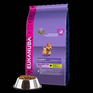 Eukanuba Dog Base Puppy Small Breeds Chicken kg 7.5