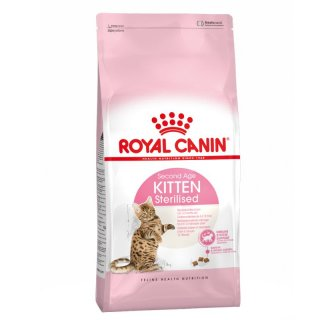 Second Age Kitten Sterilised Royal Canin