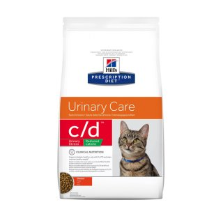 Hill's C/D Feline Reduced Calorie Urinary Stress