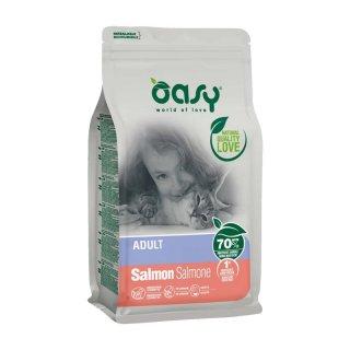 Oasy adult gatto salmone 300gr scadenza 16/12/2021