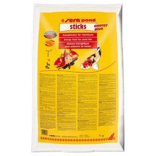 SERA POND STICKS Energy Plus - Sacco 40 litri