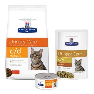 Hill's feline C/D dieta per calcoli renali gatto