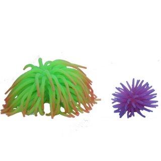 Haquoss anemone decorazione in silicone per acquari