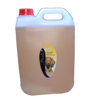 Shampoo per cani manto marrone 5 lt (silinde)