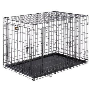 Ferplast Dog-Inn recinto per cani cuccioli Box pieghevole Nero