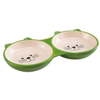 Ferplast Izar Ciotola in ceramica doppia per cani gatti