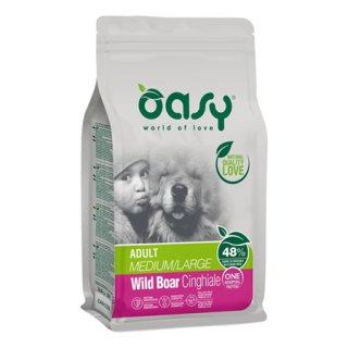 Oasy adult medium/large cinghiale 2,5kg scadenza 29/10/2021