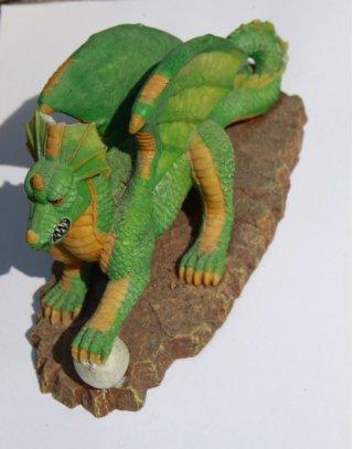 Decorazioni per acquario dragone