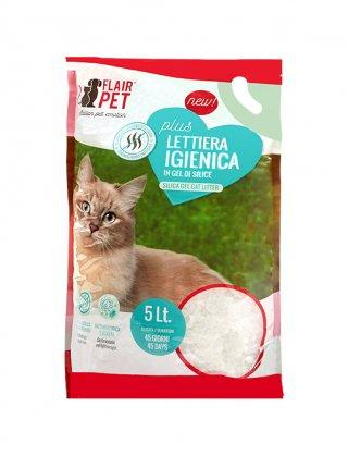 Flair pet sabbia silicio per gatti