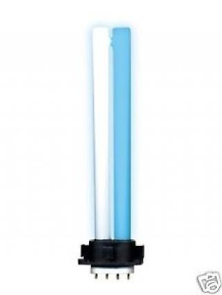 Lampada solaris 11w bianco blu