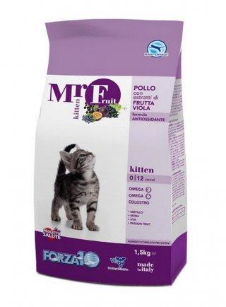 Forza10 Mr.Fruit Kitten Pollo e Frutta Viola