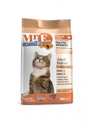 Forza 10 Mr. Fruit gatto Adult Indoor pollo e frutti arancio gr 400