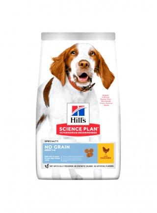 Hill's adult no grain alimento per cani a base di pollo 14kg