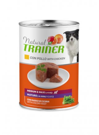 Trainer natural Dog Mature Medium&Maxi Pollo 12 x 400g