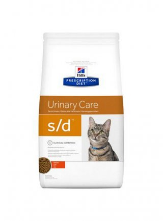 Hill's feline S/D 1,5 kg secco