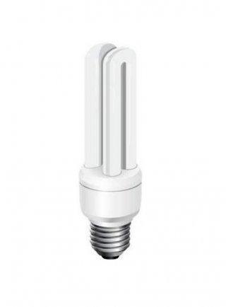 Lampada energy saving Icewhite bianca 12.000 k attacco E27 14 watt/2U