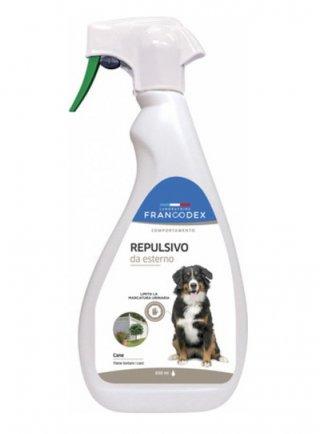 Repellente d'esterni per cani Francodex 650 ml