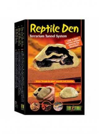 Reptile den- tana per rettili a tunnel medium