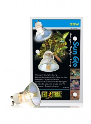 Sun glo lampada alogena a luce diurna 35w