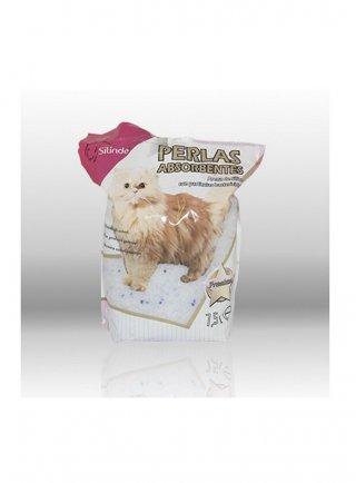 Lettiera sabbia silicio Silinde per gatti 7,5l