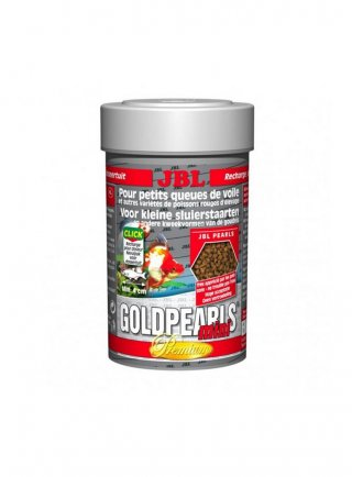 Jbl GoldPearls mini mangime in perle per pesci rossi 100 ml
