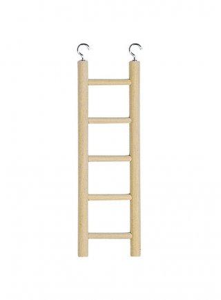 Scaletta in legno per gabbie Ferplast