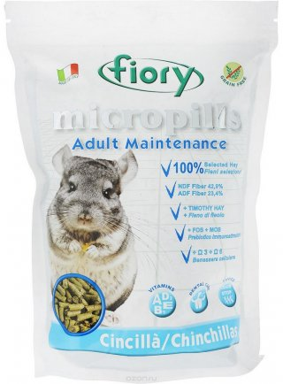Fiory mangime completo per Cincillà 850 Gr