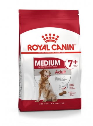 Medium Adult 7+ cane Royal Canin 15 kg