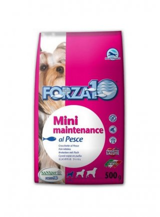 forza 10 mini maintenance pesce kg 1,5 e 4kg