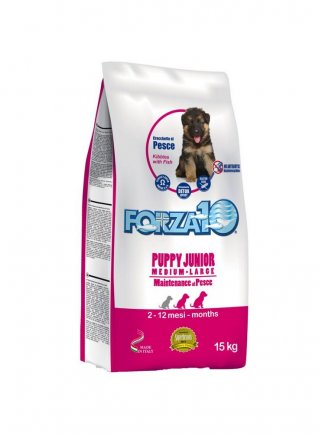 Forza 10 Puppy junior al pesce 2 e 12,5 kg