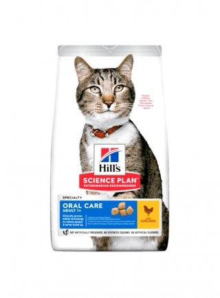 Hill's feline Oral care adult 1,5 kg