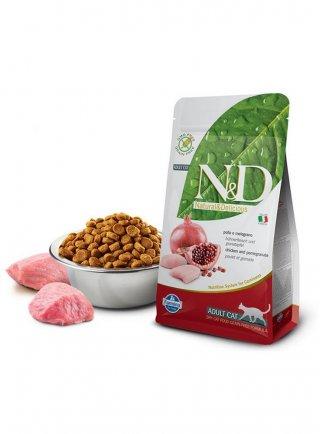 Farmina N&D gatto grain free pollo melograno 5Kg