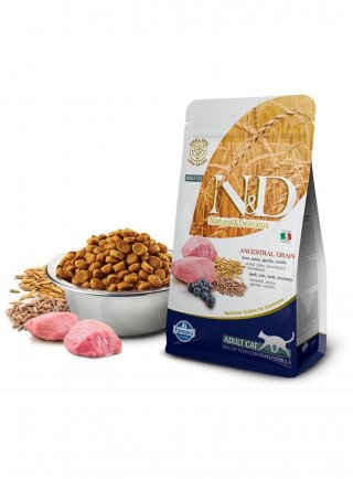 Farmina N&D gatto Ancestral agnello mirtillo 5Kg