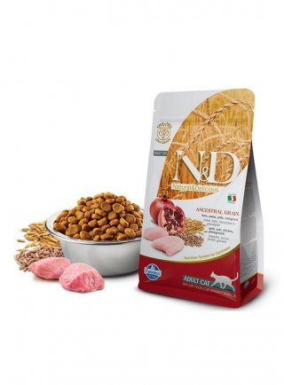 Farmina N&D Gatto Ancestral pollo melograno 5Kg