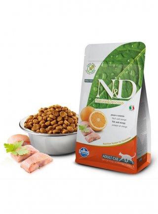 Farmina N&D gatto grain free ocean prime arancia 5Kg